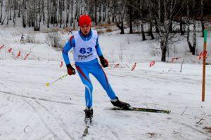 Победитель соревнований Сергей Маркин.