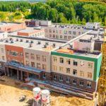 Компания «Проспект» доложила о степени готовности новой школы в Кольцово