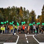 В Кольцово открылся детский автогородок