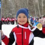 Золото «Лыжни России-2020» взяла юная лыжница из Кольцово