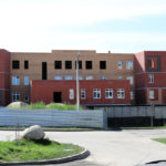 Строительство нового детского сада в Кольцово идет к завершению