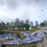 Мост через овраг в III микрорайоне станет следующим этапом проекта благоустройства Кольцово