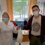 Бесплатные обеды предложила медикам Кольцово семья предпринимателей