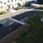 Двор по улице Центральная в Новоборске приобретает новый облик