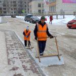Жильцы дома №10 в Кольцово оценили труд дворника