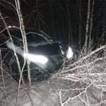 Наезд на дорожный знак произошел на трассе Кольцово-Академгородок