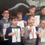 На «Озорной ладье» в Новосибирске за Кольцово выступили четыре шахматиста