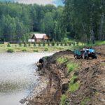 Озеро в Кольцово наполнится до прежнего уровня на следующей неделе